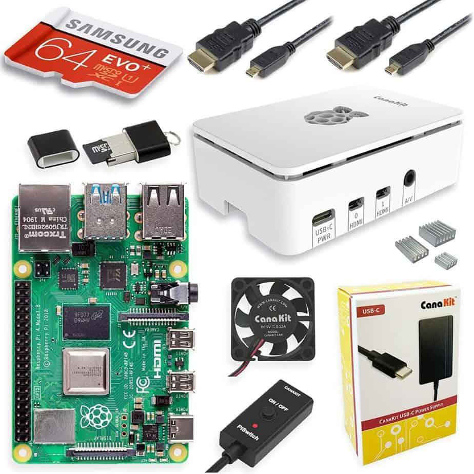 CanaKit Raspberry Pi 4 4GB Starter MAX Kit