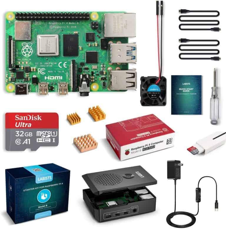 LABISTS Raspberry Pi 4 4GB Complete Starter PRO Kit