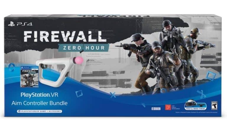 Playstation VR Aim Controller Firewall Zero Hour Bundle