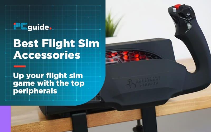 best flight simulator accessories