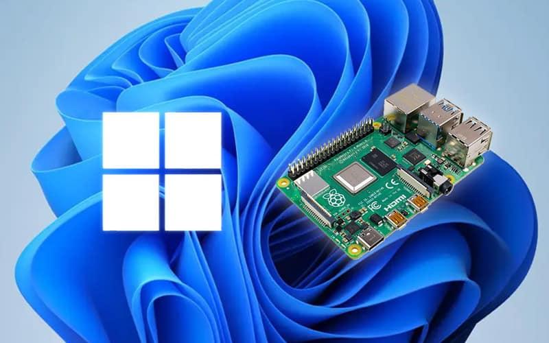 how to install windows 11 on raspberry pi 4