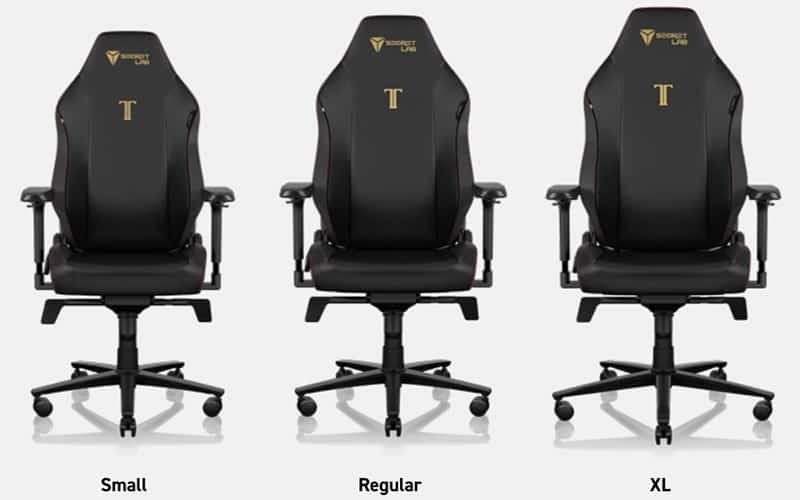 new titan evo sizes