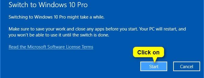 switch to windows pro