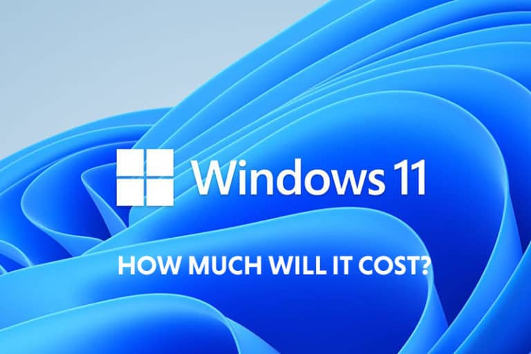 Windows 11 - how much will it cost image