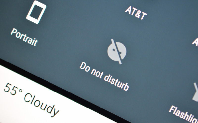 do not disturb android