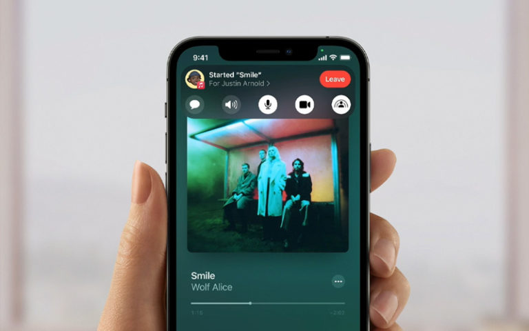 how to share music on ios 15