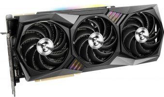 MSI NVIDIA GeForce RTX 3080 10GB GAMING X TRIO Ampere Graphics Card